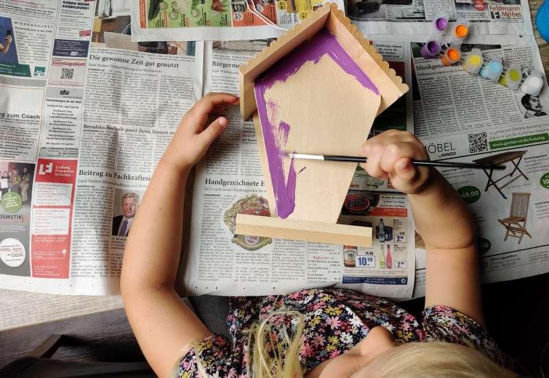 Eichhorn/Basteln, Malen & Kreativ:Futterhaus zum selbstgestalten