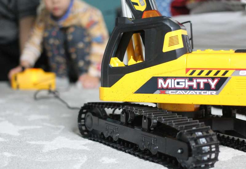Dickie Toys/Autos, Fahrzeuge, Boote & Flieger:Mighty Excavator