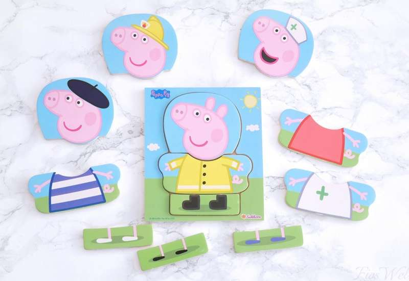 Eichhorn/Spiele & Puzzles:Peppa Pig Umziehpuzzle
