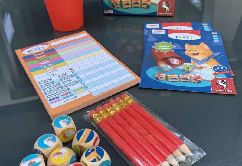 Sonstige/Spiele & Puzzles:Langland Yatzy – ein Klassiker