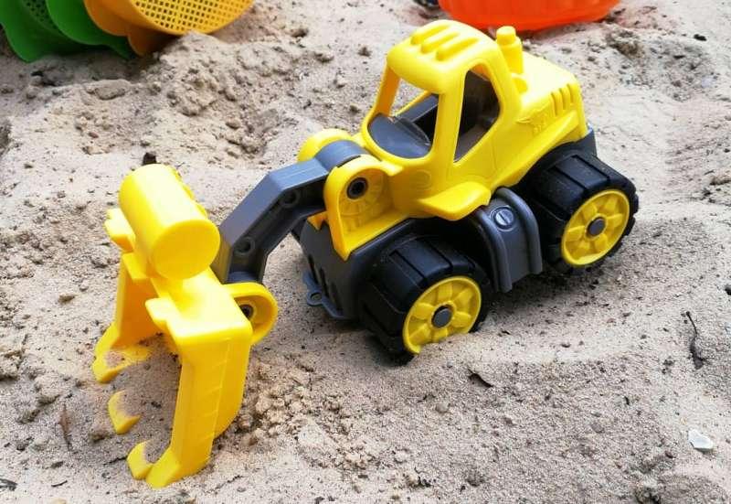 BIG/Autos, Fahrzeuge, Boote & Flieger:BIG-Power-Worker Mini Radlader