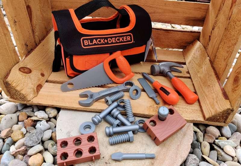 Smoby/Bauen & Konstruieren:Black+Decker Werkzeugtasche