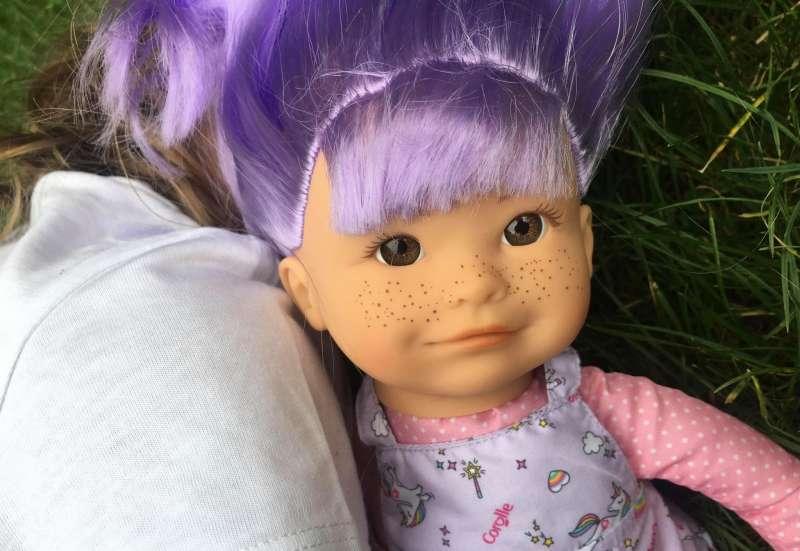 Hallo neue Puppenfreundin
