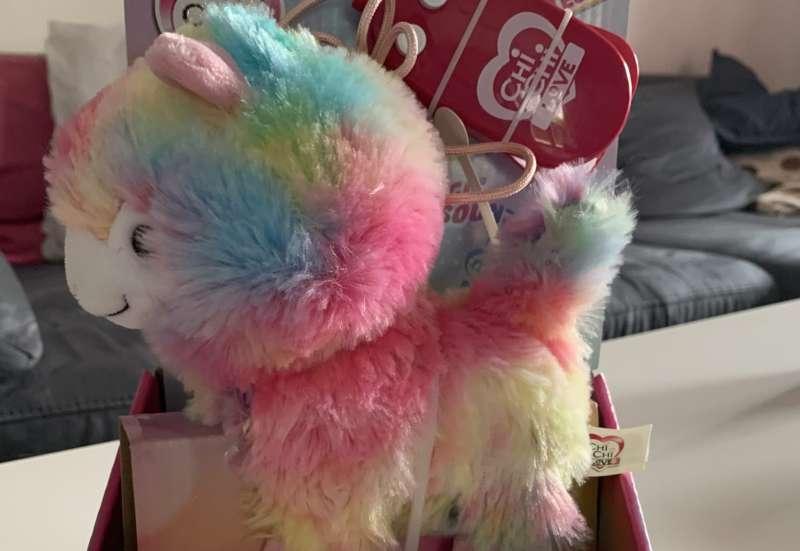 Simba/Puppen & Puppenzubehör:Rainbow Lama