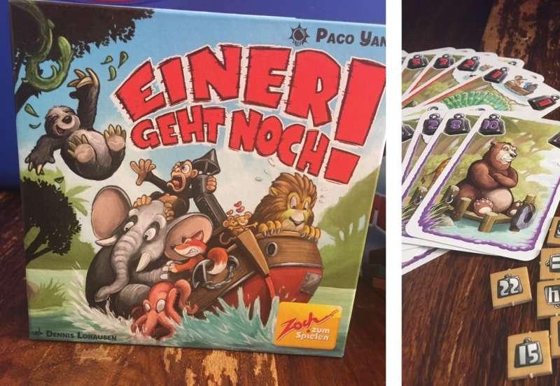 Zoch/Spiele & Puzzles:Einer geht noch!