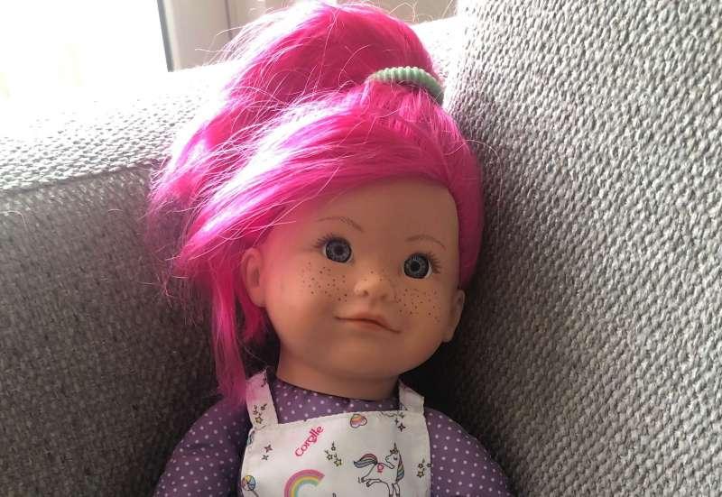 Simba/Puppen & Puppenzubehör:Corolle Rainbow Doll Nephelie