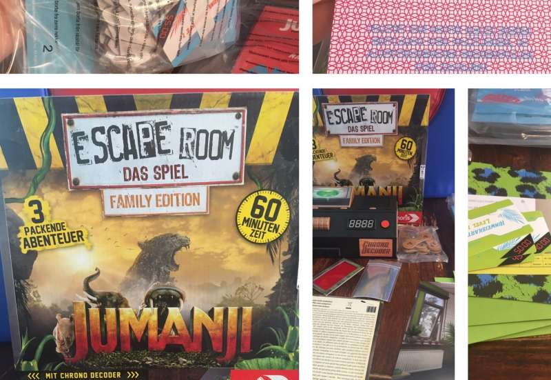 Noris/Spiele & Puzzles:Escape Room Jumanji von Noris