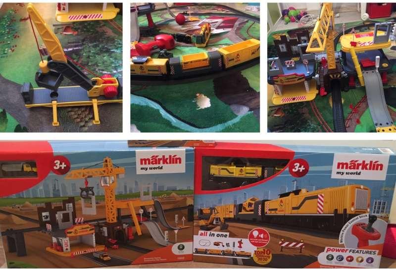 MÄRKLIN/Autos, Fahrzeuge, Boote & Flieger:märklin my world Baustellenzug