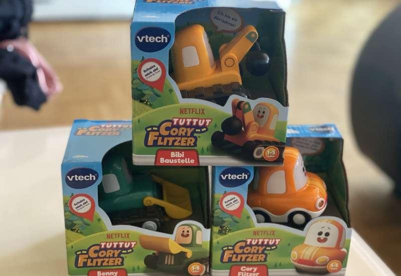 VTECH/Baby- & Kleinkindspielzeug:Tut Tut aus der Netflix Serie