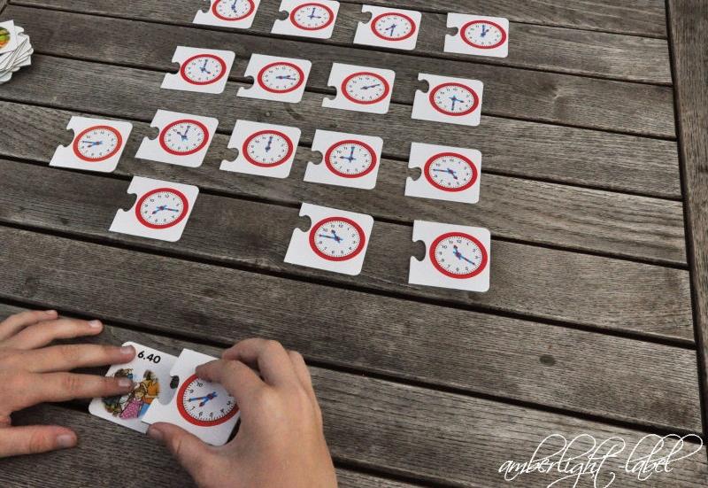Noris/Spiele & Puzzles:Lern die Uhr von Noris