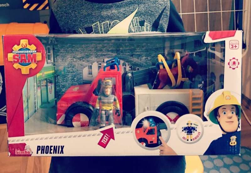 Simba/Autos, Fahrzeuge, Boote & Flieger:Feuerwehrmann Sam Phoenix