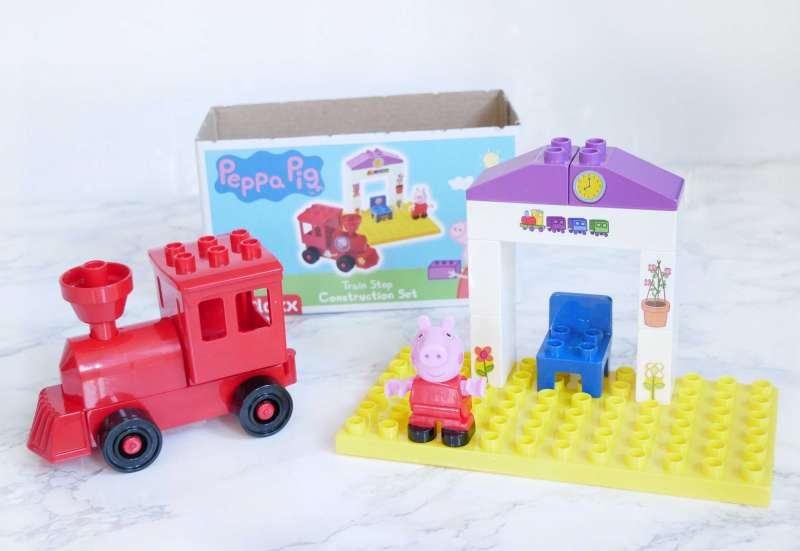 BIG/Baby- & Kleinkindspielzeug:Peppa Wutz Lokomotive