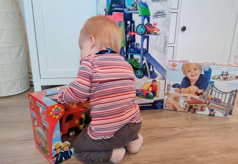Simba/Spielewelten & Sammelfiguren:Unboxing Toy Boxx 07/2020