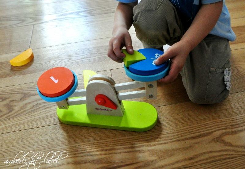 Eichhorn/Baby- & Kleinkindspielzeug:Hoolzwaage von Eichorn