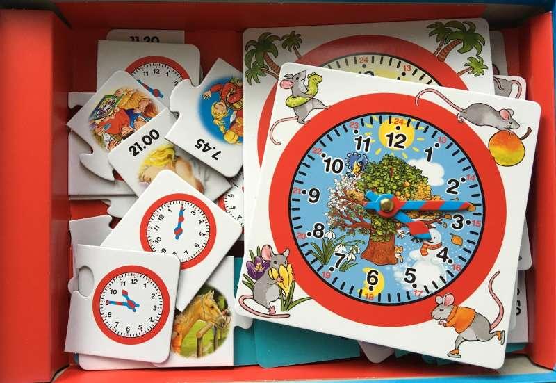 Noris/Spiele & Puzzles:Ich lern die Uhr