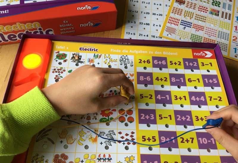 Noris/Spiele & Puzzles:Rechen-Electric