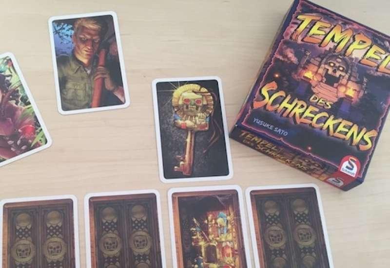 SCHMIDT SPIELE/Spiele & Puzzles:Tempel des Schreckens