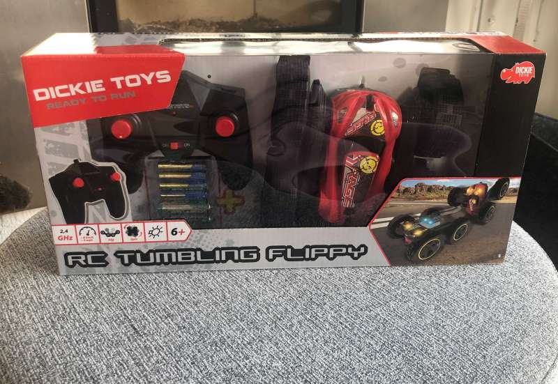 Dickie Toys/Autos, Fahrzeuge, Boote & Flieger:RC Tumbling Flippy, RTR