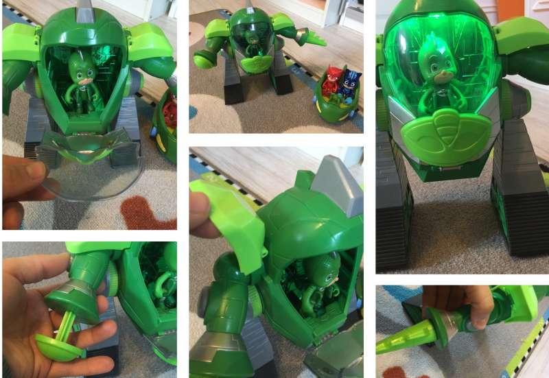 Simba/Spielewelten & Sammelfiguren:Gecko Roboter von den PJ Masks