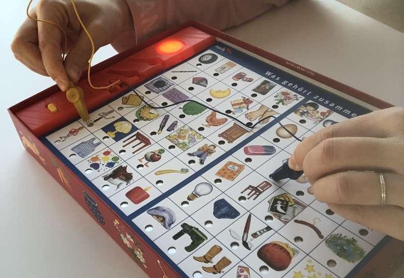Noris/Spiele & Puzzles:Noris Electric Spiele