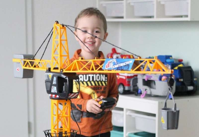 Dickie Toys/Bauen & Konstruieren:Dickie Toys Giant Crane