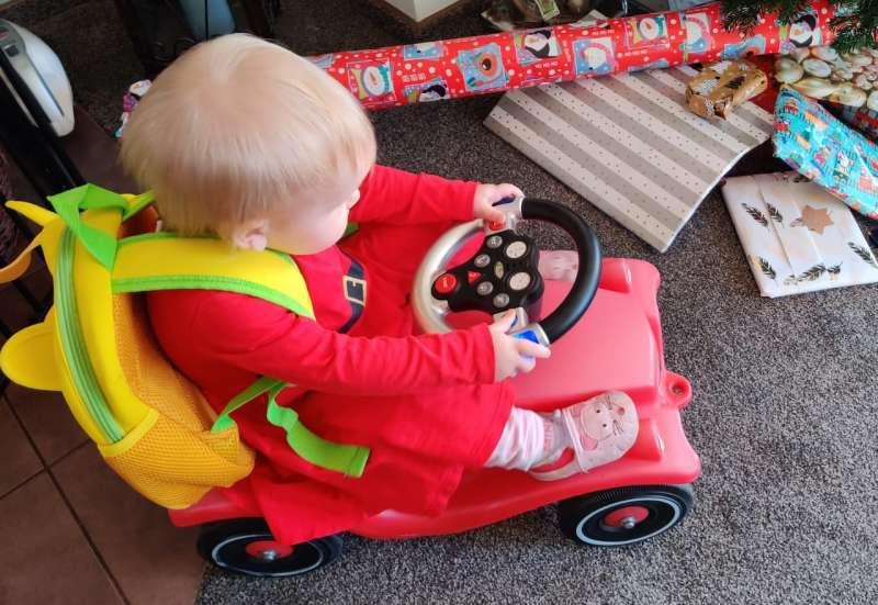 BIG/Kinderfahrzeuge (z. B. Bobby Car):BIG-Rescue-Sound-Wheel