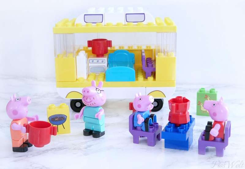 BIG/Baby- & Kleinkindspielzeug:Peppa Wutz Campingwagen