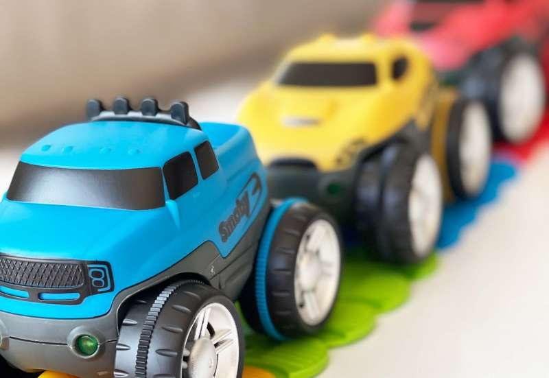 Smoby/Autos, Fahrzeuge, Boote & Flieger:Smoby FleXtreme - Starter-Set