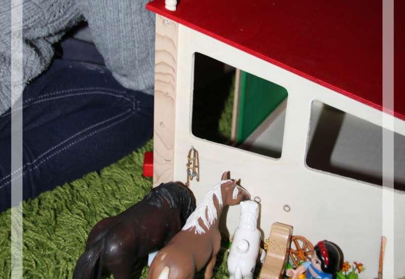 Pferdestall fürs Kind
