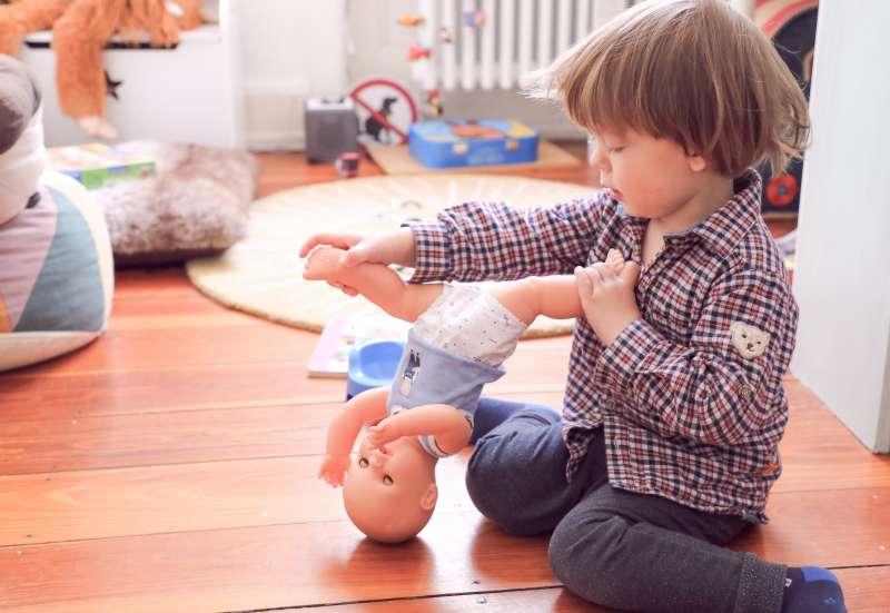 Simba/Puppen & Puppenzubehör:Puck und Paul
