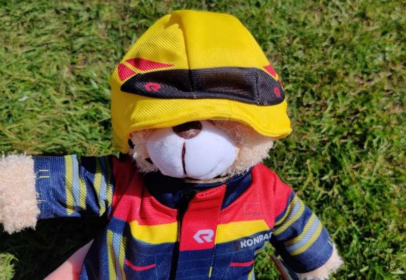 Feuerwehr Plüschbär