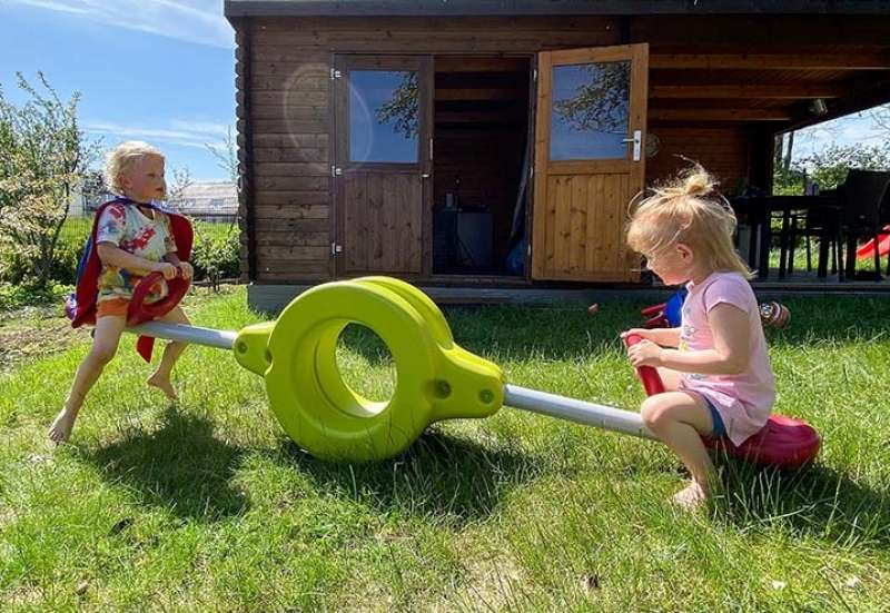 BIG/Outdoor & Sport:Wir testen die BIG Wasserwippe