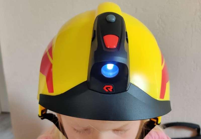 Simba/Kinder Rollenspiele:Feuerwehrhelm von Rosenbauer
