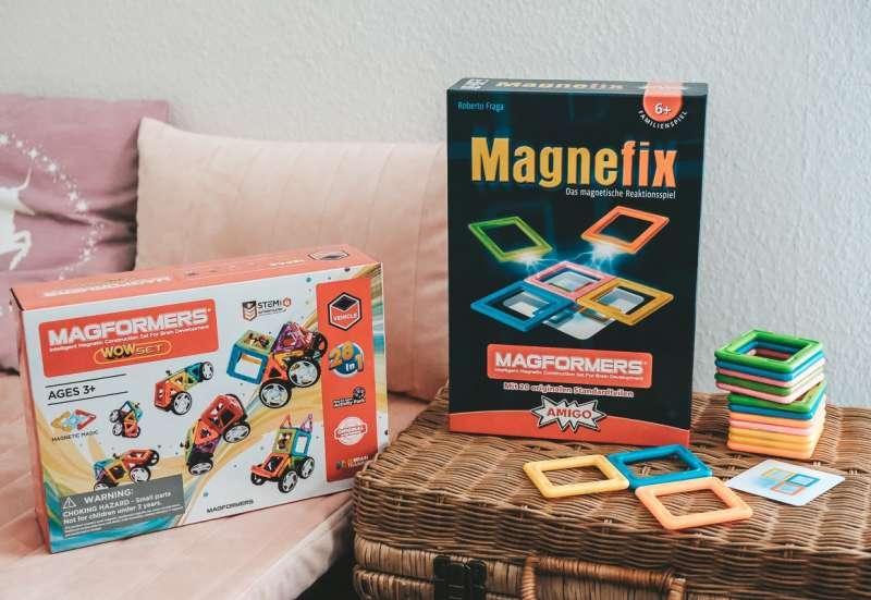 AMIGO/Spiele & Puzzles:AMIGO Magnefix Spiel