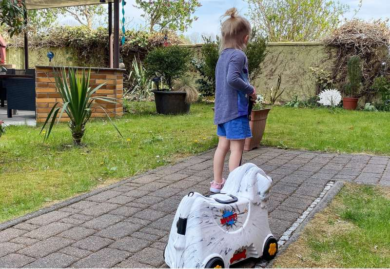 BIG/Baby- & Kleinkindspielzeug:Der BIG Bobby Trolley Marble