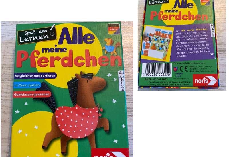 Noris/Spiele & Puzzles:Alle meine Pferdchen von Noris