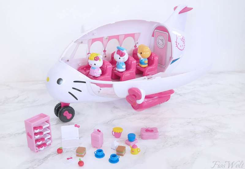 Dickie Toys/Spielewelten & Sammelfiguren:Hello  Kitty Flugzeug
