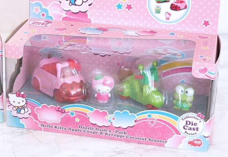 Hello Kitty Apple + Keroppi