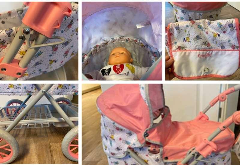 Simba/Kinder Rollenspiele:Puppenwagen von Corolle