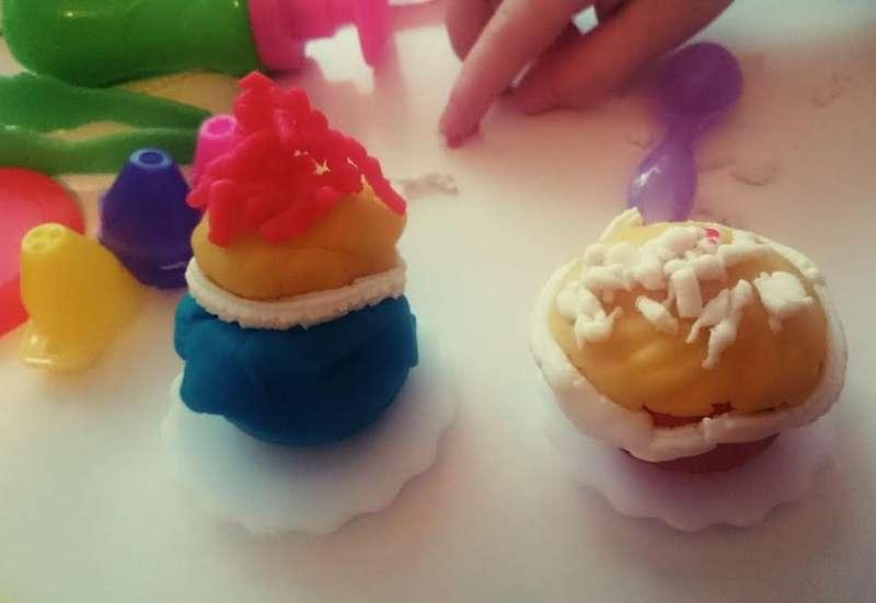 Simba/Basteln, Malen & Kreativ:Das Cupcake Knetset - Art&Fun