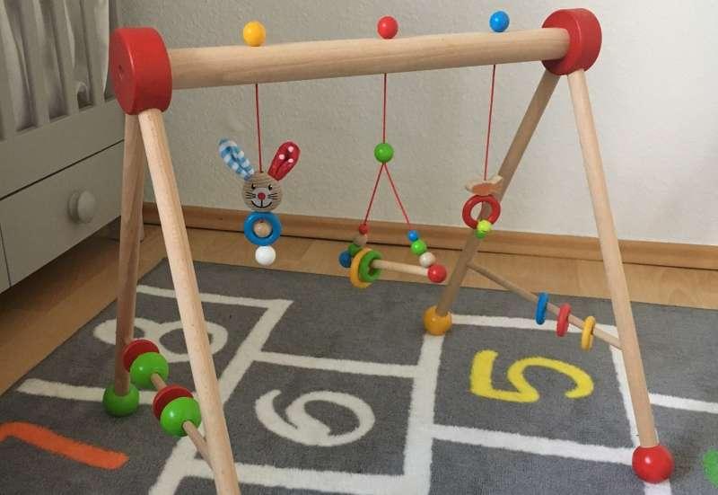 Eichhorn/Baby- & Kleinkindspielzeug:Spaß im farbenfrohen Baby Gym