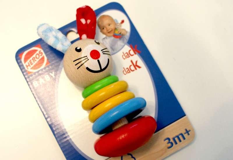 Heros/Baby- & Kleinkindspielzeug:Hasen Holzspielzeug