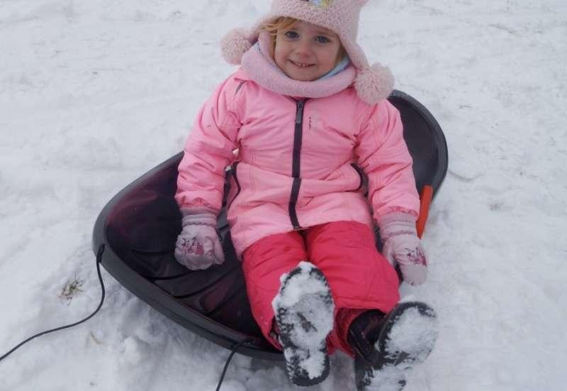 BIG/Outdoor & Sport:Der BIG Snow Carver im Einsatz