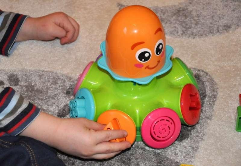 TOMY/Baby- & Kleinkindspielzeug:Tomy Lernkrake