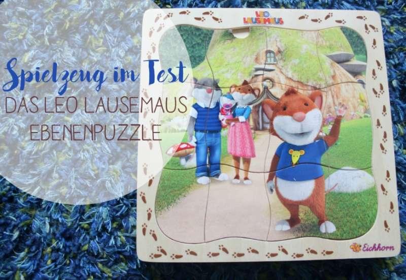 Eichhorn/Spiele & Puzzles:Das Leo Lausemaus Ebenenpuzzle