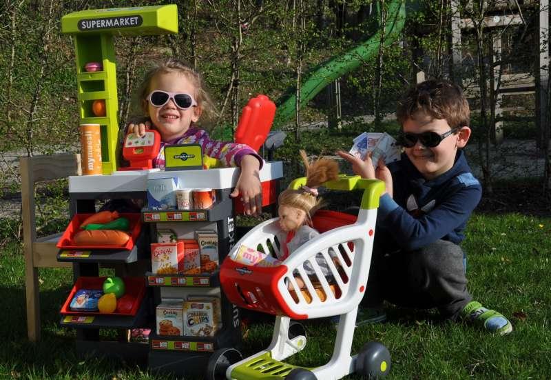 Smoby/Kinder Rollenspiele:Einkaufsspaß für daheim