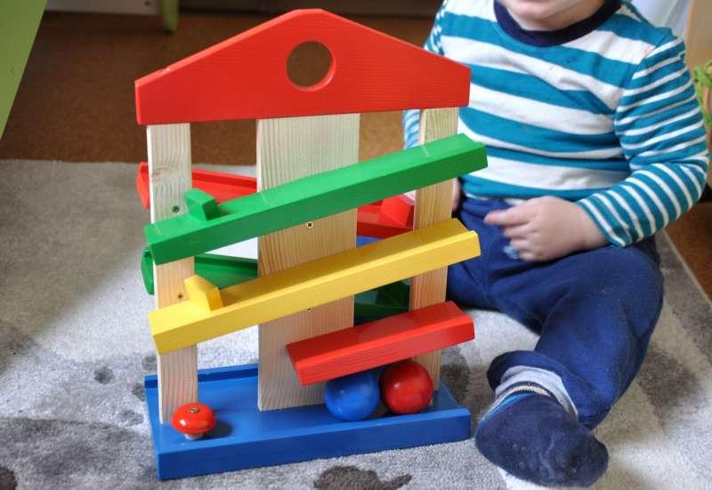 Eichhorn/Baby- & Kleinkindspielzeug:Kinder lieben Kugelbahnen