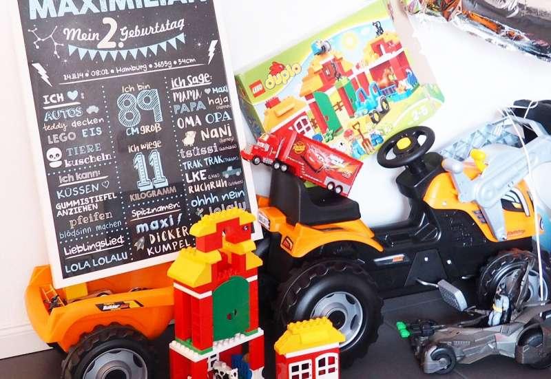 BIG/Autos, Fahrzeuge, Boote & Flieger:Builder Max Traktor von SMOBY