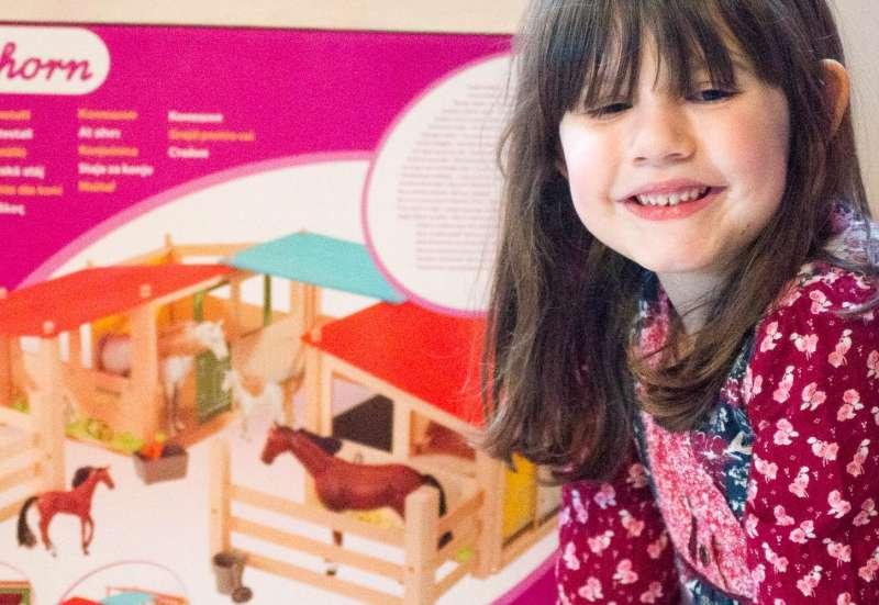Eichhorn/Kinder Rollenspiele:Schuften im Pferdestall