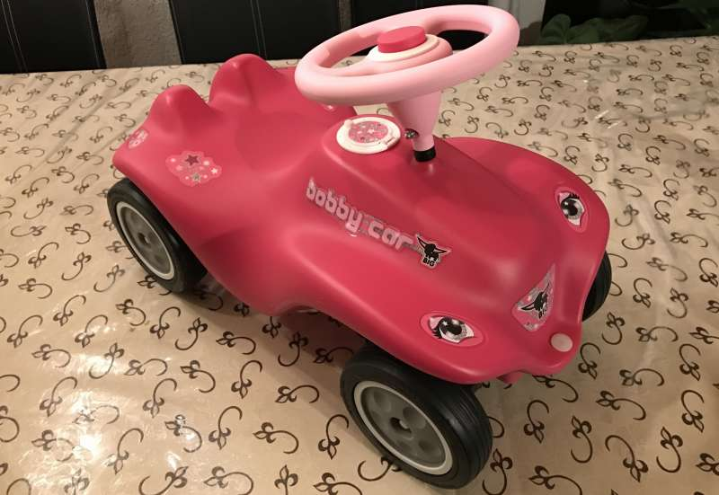 BIG/Kinderfahrzeuge (z. B. Bobby Car):New Bobby-Car Rockstar Girl
